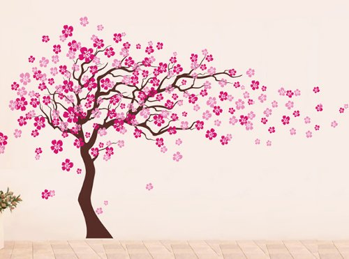 Funk 39 n beauty with cherry blossom tree graphics funk for Cherry blossom tree wall mural