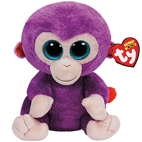 Ty Beanie Boos Grapes The Purple Monkey Plush - 1