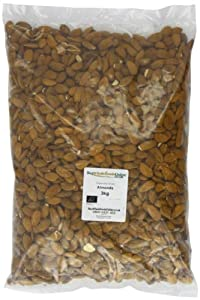 Buy Whole Foods Organic Almonds 3 Kg