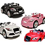 AUDI TT STYLE 12V TWIN MOTORS PINK RECHARGEABLE KIDS RIDE ON CAR + PARENTAL REMOTE CONTROL AND MP3 INPUT (AUDI 12V PINK)
