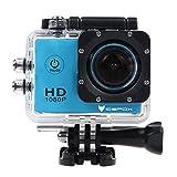 icefox® FHD Unterwasser-Action-Kamera, 12MP, 1080P, wasserdichte HD-Kamera...