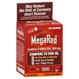 Schiff MegaRed Omega-3 Krill Oil, 300 mg, Softgels, 60 ct.