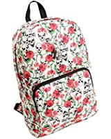 Syyeah Skull and Rose Women Bags Fashion Girls Backpacks