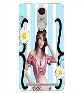 PrintDhaba Fantasy Girl D-6046 Back Case Cover for LENOVO K5 NOTE (Multi-Coloured)