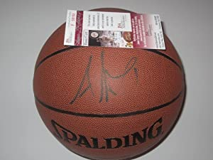 Amare Stoudemire New York Knicks Signed Autographed Basketball Authentic Certified...