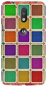 Kasemantra Color Palette Case For Motorola Moto G4