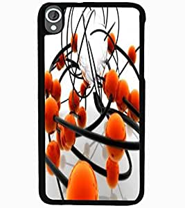 ColourCraft Printed Design Back Case Cover for HTC DESIRE 820