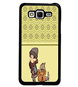 PrintDhaba Pattern D-4314 Back Case Cover for SAMSUNG GALAXY GRAND PRIME (Multi-Coloured)