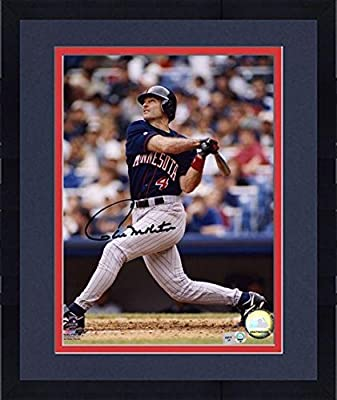 "Framed Paul Molitor Minnesota Twins Autographed 8"" x 10"" Hitting Photograph - Fanatics Authentic Certified"