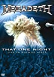 Megadeth - That One Night: Live In Bu...