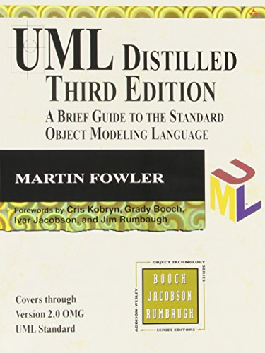 UML Distilled: A Brief Guide to the Standard Object...