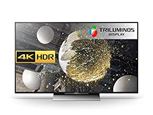 Sony Bravia KD55XD8005 55-Inch Android 4K HDR Ultra HD Smart TV (2016 Model) with TRILUMINOS Display, PlayStation Now, Google Cast - Black