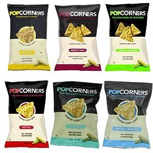 PopCorners 6 Flavor Variety Pack 1.1 Oz Bags (40 Pack)