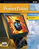 img - for Microsoft Office 2003 PowerPoint : A Professional Approach, Comprehensive w/ Student CD book / textbook / text book