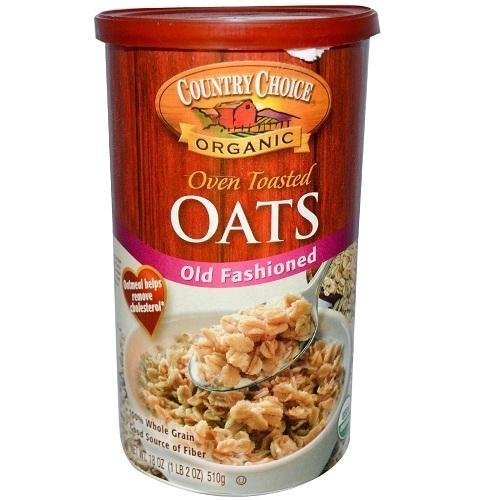 Country Choice Organic Oven Toasted Old Fashioned Oats Canisters - 18 oz by Country Choice Organic (Oven Toasted Oats compare prices)