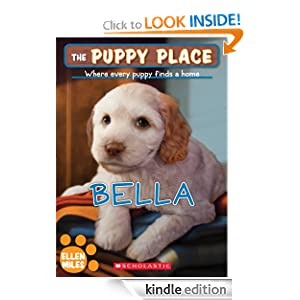 the puppy place 22 bella   kindle edition by ellen miles