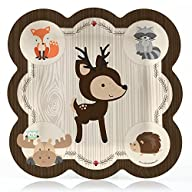 Woodland Creature – Dinner Plate (8 count)