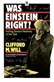 img - for Was Einstein Right?: Putting General Relativity to the Test (Oxford Paperbacks) book / textbook / text book