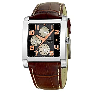Festina Men's Multi-Function Watch F16235/5 With Leather Strap