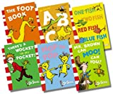 Dr.Seuss Dr Seuss Blue Back Collection - 6 Books RRP £30.94 (Dr. Seuss's ABC; Hop On Pop; One Fish, Two Fish, Red Fish, Blue Fish; Mr. Brown Can Moo! Can You?; There's A Wocket In My Pocket; The Foot Book)