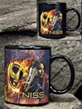The Hunger Games - Merchandise (Thermal Coffee Mug - Katniss Everdeen) (Changing Image)