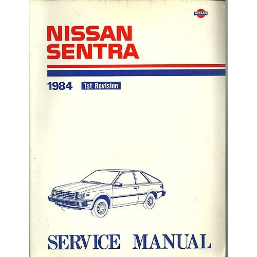nissan sentra and 200sx repair manual for all models from. Black Bedroom Furniture Sets. Home Design Ideas