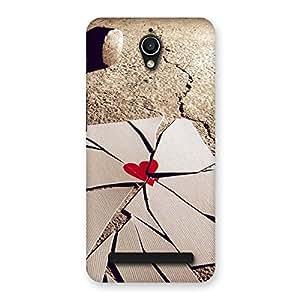 Broken Heart Ace Back Case Cover for Zenfone Go