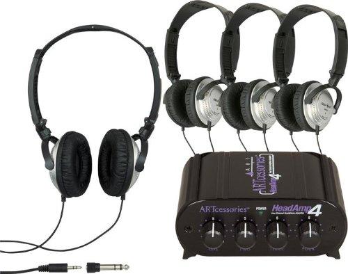 ART HeadAmp 4 Headphone Amp  4 Free Headphones