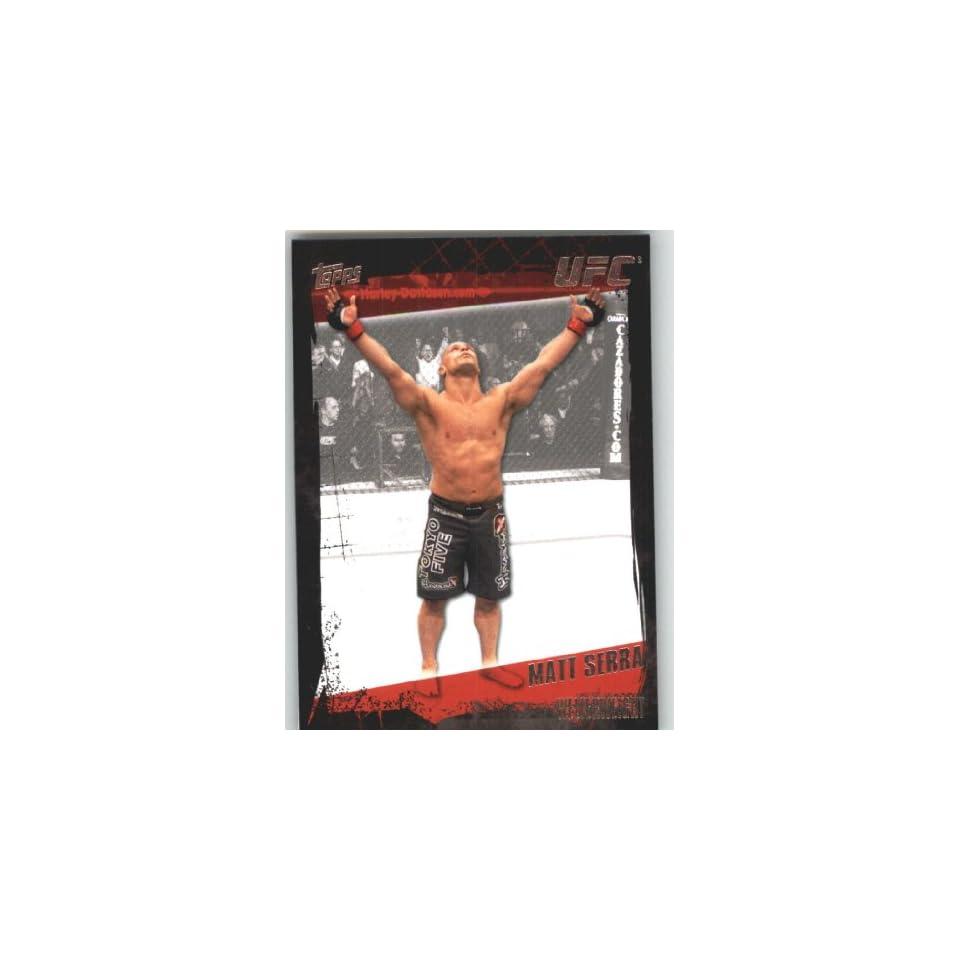 2010 Topps UFC Trading Card # 86 Matt Serra (Ultimate