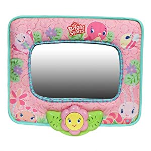 Bright Starts Sweet Symphony Auto Mirror, Pretty in Pink