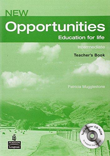 New opportunities. Intermediate. Teacher's book. Ediz. internazionale. Con espansione online. Per le Scuole superiori