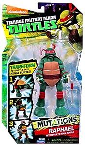 """Teenage Mutant Ninja Turtles Nickelodeon Mutations Raphael 6"""" Action Figure [Pet Turtle to Ninja Turtle]"""
