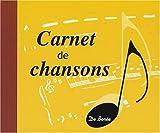 echange, troc De Borée - Carnet de Chansons
