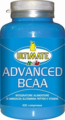 Ultimate Italia Advanced BCAA Aminoacidi Ramificati - 100 Caplets