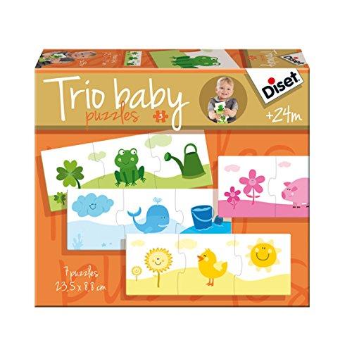 Diset - Trio baby colores, rompecabezas (69967)