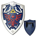 Full Size Link Hylian Zelda Shield with Grip & Handle by Top Sword