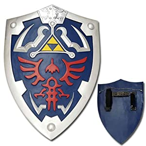 fantasy sword, legend of zelda, legend of zelda sword, link sword, zelda sword, Hylian Shield