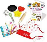 Vilac Cake Learning Set with Accessories and Recipes (9-Piece) by Vilac