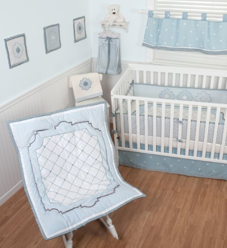 Sumersault 4 Piece Crib Bedding Set, Little Prince