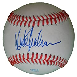 New York Yankees Dick Tidrow Autographed ROLB Baseball, Chicago Cubs, Cleveland Indians, Proof Photo