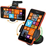 Fm Online 360 Degree Windscreen Car Mount Suction Holder Cradle Dasboard Holder For Nokia Lumia 625