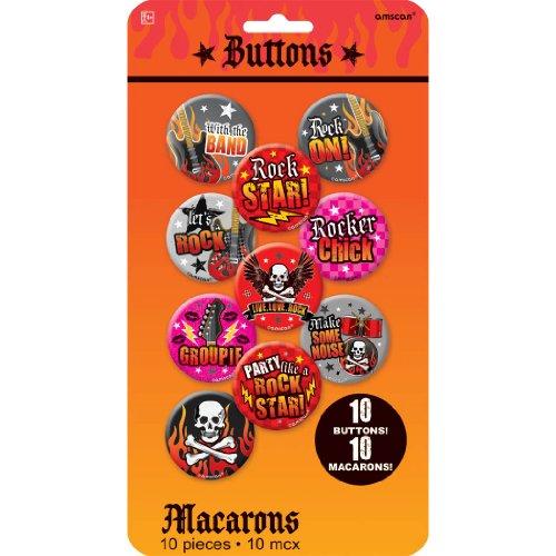 Buttons Rock Star