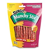 Dingo Munchy Stix Treats, 50-Count