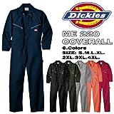 【アウトレット】ディッキーズ 長袖 つなぎ LONG SLEEVE COVERALLS 「ME220」 「綿100%」