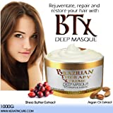 DEEP HAIR REPARATION MASK 1000G - BTX BRAZILIAN THERAPY XTREME PINA COLADA WITH ARGON OIL - SHEA BUTTER 1000GR...