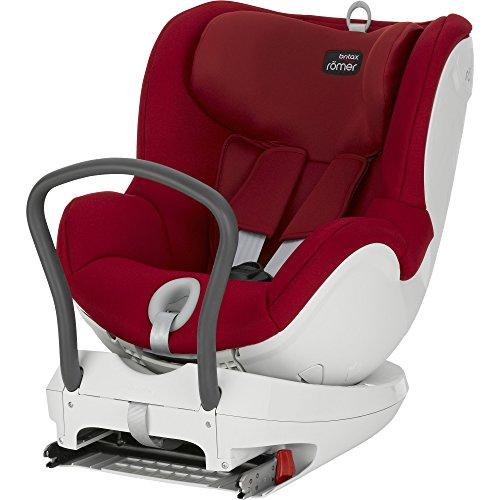 Romer Dual Fix - Silla de coche, color rojo