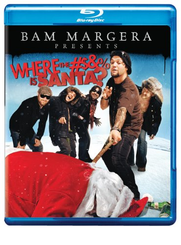 Cover art for  Bam Margera Presents: Where the #$&% is Santa? [Blu-ray]