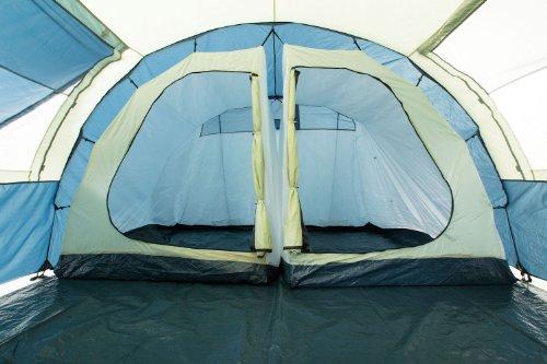 CampFeuer – Tunnelzelt mit versetzbarer Wand - 4