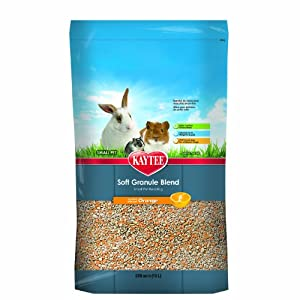 Kaytee Soft Granule Blend Pet Bedding, 10-Liter, Orange Scented