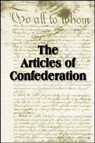 The Articles of Confederation (with linked TOC) PDF